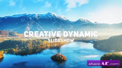 Fun & Dynamic Slideshow - After Effects Template (Motion Array)