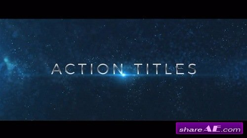 Action Trailer Titles - After Effects Template (Motion Array)
