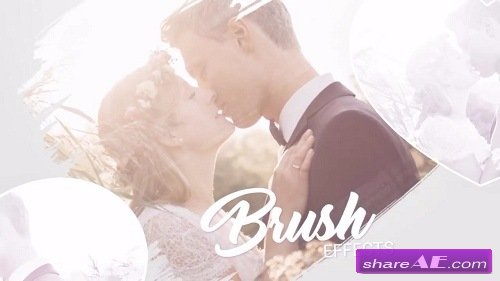 Slideshow - Brush Effects - Love Story - After Effects Template (Motion Array)