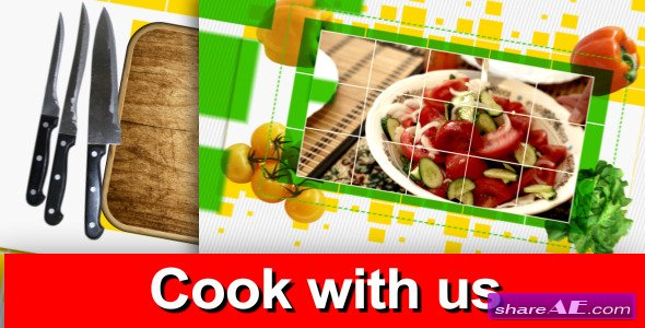 Videohive Cook With Us - Tv Pack