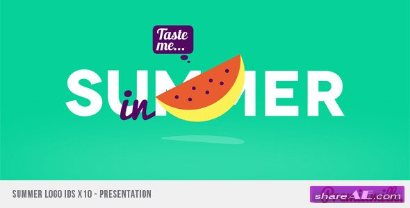 Videohive Summer Logo IDS