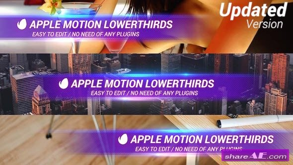 Videohive Simple Lowerthird