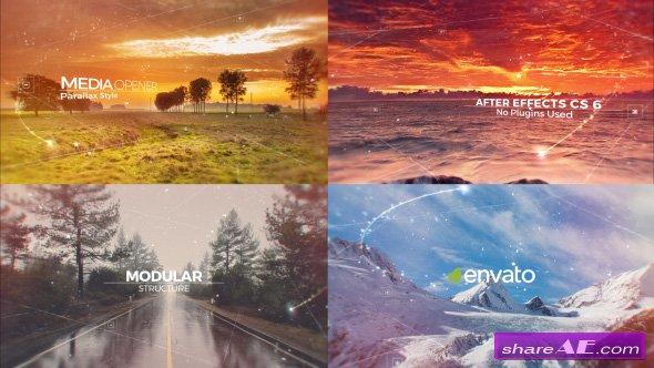 Videohive Parallax Media Opener 17587296