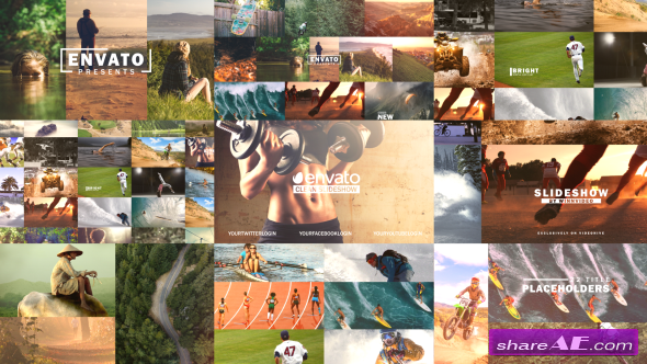 Videohive Clean Slideshow 19565238
