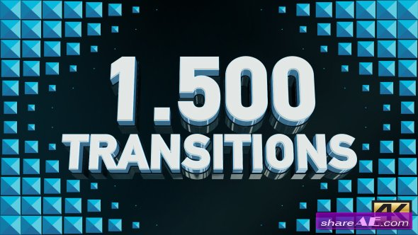 Videohive Transitions 19509239