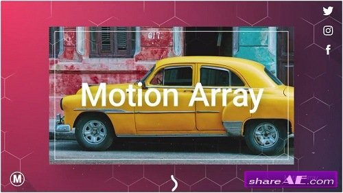New Elegant Slideshow - After Effects Template (Motion Array)