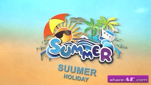 Summer logo - After Effects Template (Motion Array)
