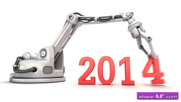 Videohive High Technology New Year 3d Animation - Motion Graphic