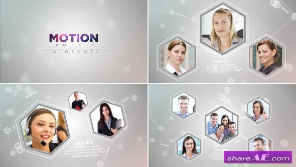 Videohive Corporate Network