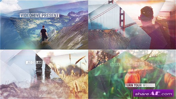 Videohive Abstract Shapes - Simple Slideshow