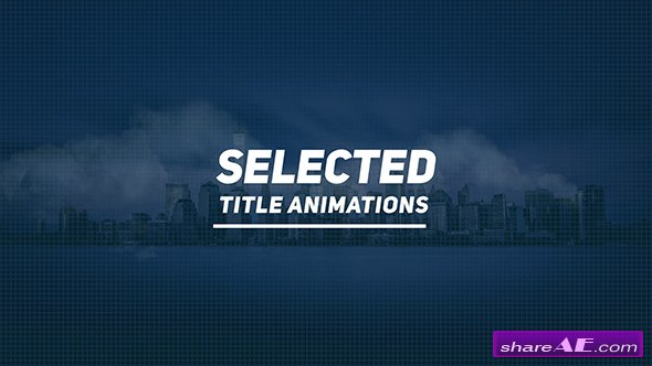 Videohive Selected Titles