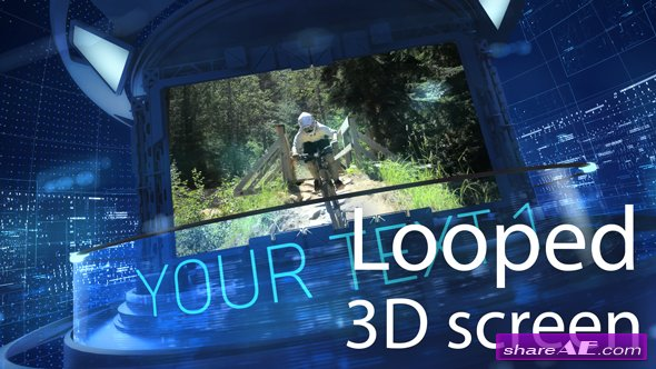 Videohive 3D Carousel Looped