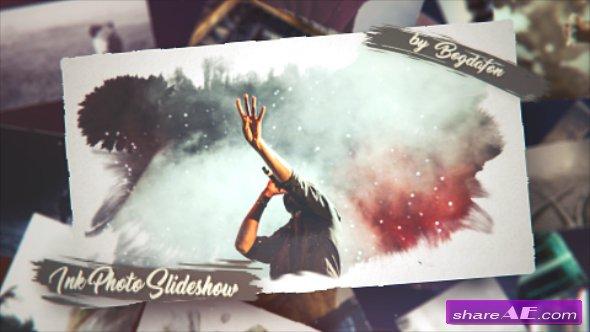 Videohive Ink Photo Slideshow