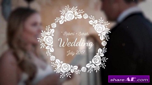Wedding Titles Mini Pack - After Effects Template (Motion Array)