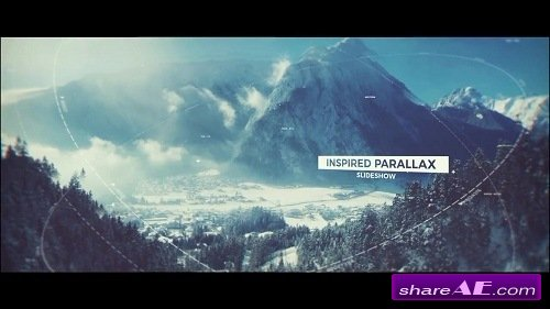 Inspired Parallax Slideshow - After Effects Template (Motion Array)