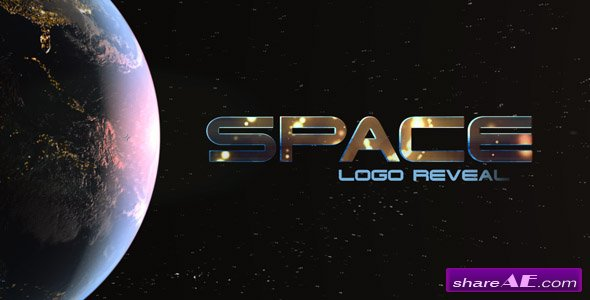 Videohive Space Logo Reveal