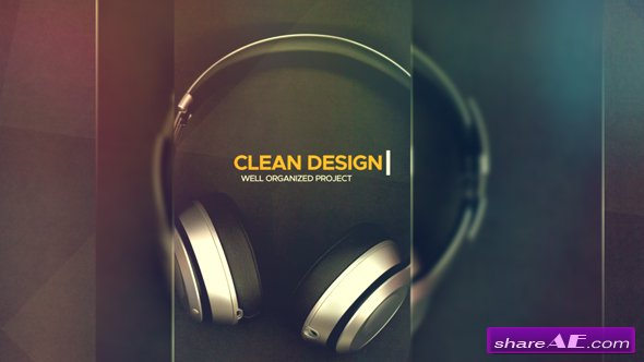 Videohive Clean Media Intro