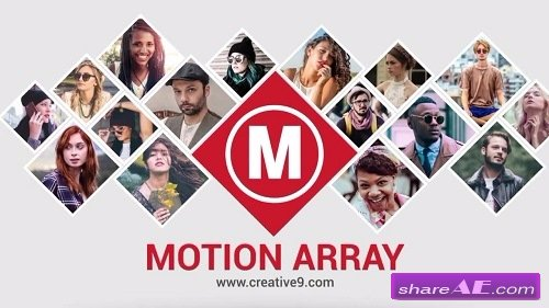 Multi Image Opener - After Effects Template (Motion Array)