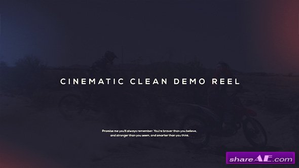 Videohive Cinematic Demo Reel