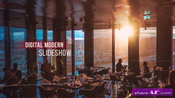Videohive Digital Modern Slideshow