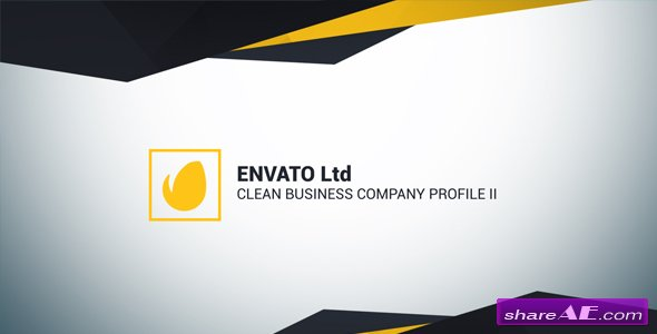 Videohive clean business company profile ii free after for Company profile after effects templates free download