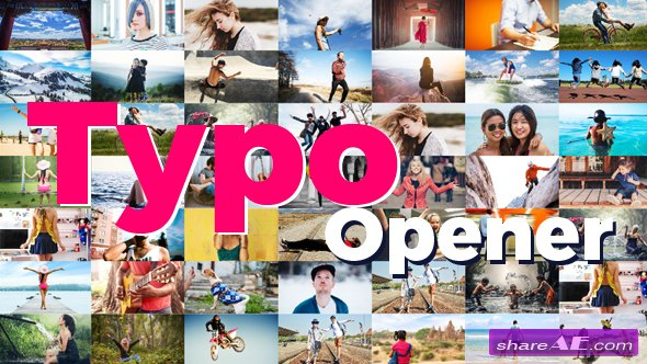 Videohive Dynamic Typo Opener 19567203