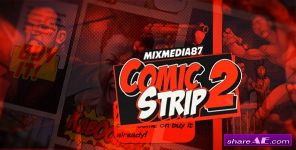 Videohive Comic Strip 2