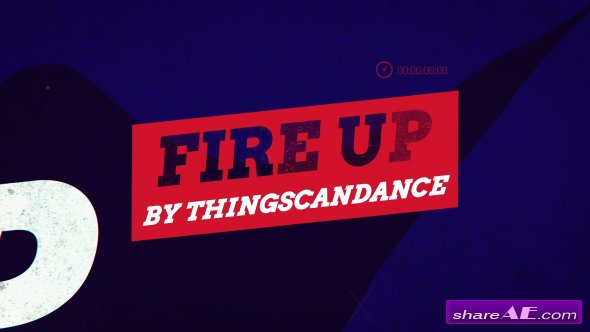 Videohive Fire Up Promo