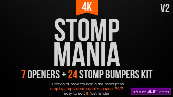 Videohive Stomp Mania