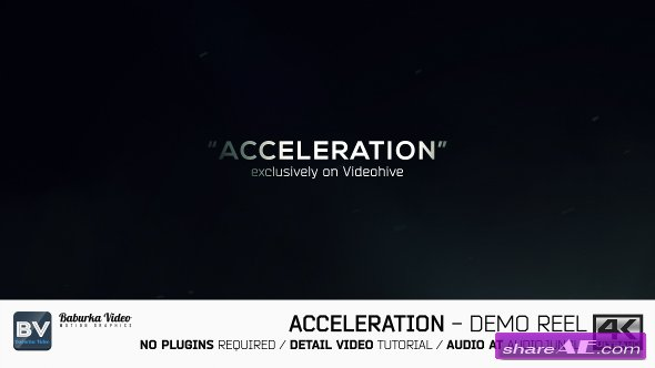 Videohive Acceleration // Demo reel