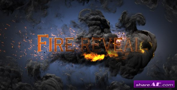 Videohive Fire Reveal