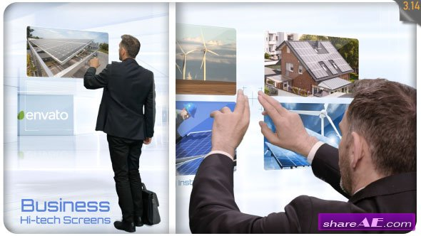 Videohive Business Hi-Tech Screens
