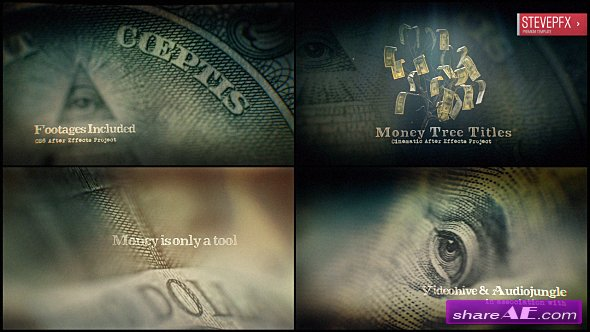 Videohive Money Tree Title