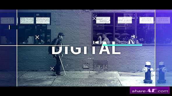 Videohive Glitch Intro 19544478