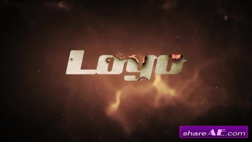 Burning Paper Logo - After Effects Template (Motion Array)