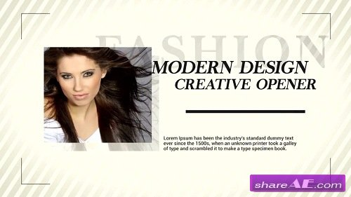 Fashion Opener - After Effects Template (Motion Array)