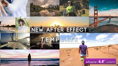 Stomp Multi Photo Logo - After Effects Template (Motion Array)