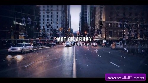 Digital Parallax Slideshow Opener - After Effects Template (Motion Array)
