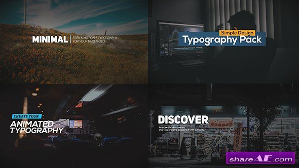 Videohive FCPX Animated Typography Titles - Apple Motion