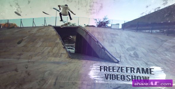 Videohive Freeze Frame Videoshow