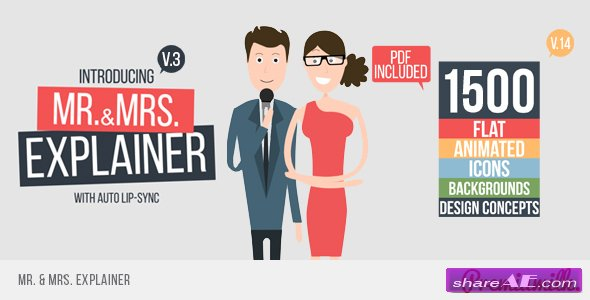 Videohive Mr&Mrs Explainer - After Effects Templates