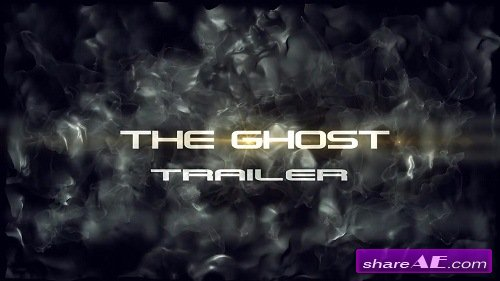 The Ghost Trailer - After Effects Template (Motion Array)