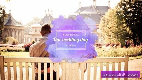 Watercolor Wedding Pack - After Effects Template (Motion Array)