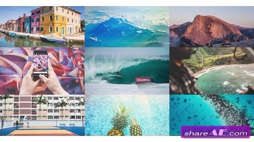 Summer Opener 37721 - After Effects Template (Motion Array)