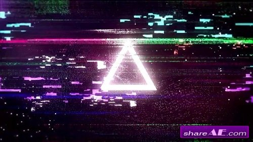 Cyberpunk Glitch Logo Opener - After Effects Template (Motion Array)