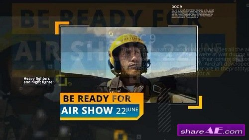 Air Show Opener - After Effects Template (Motion Array)