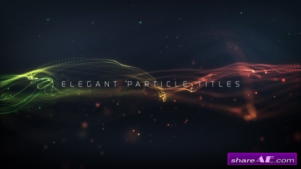 Videohive Elegant Particle Titles