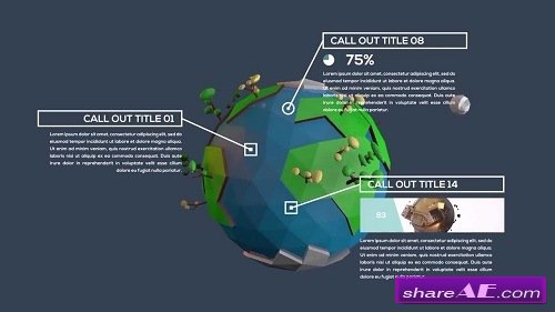 Inforgraphic Call-Out Titles - After Effects Template (Motion Array)