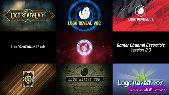 Videohive The YouTuber Pack - Gamer Channel Essentials V2
