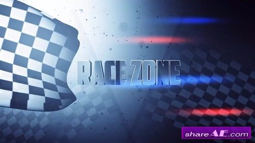Race Zone Title Design - After Effects Template (Motion Array)
